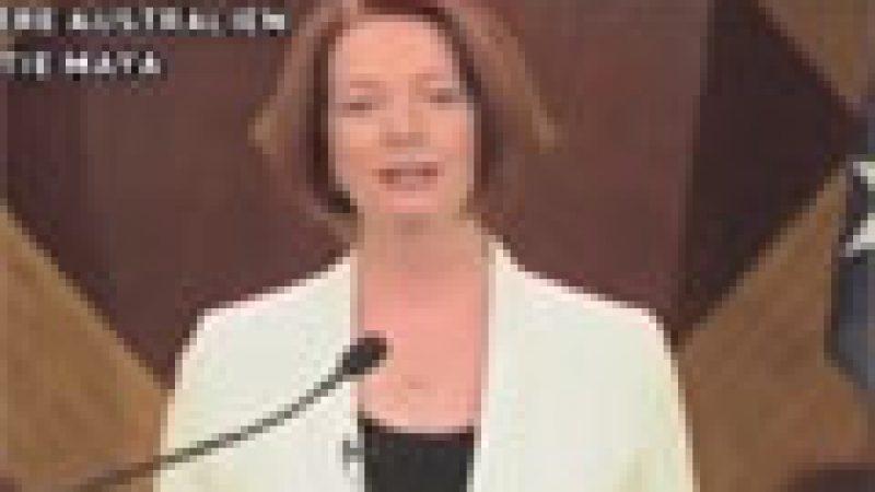 Zapping : La première ministre australienne annonce la fin du monde…