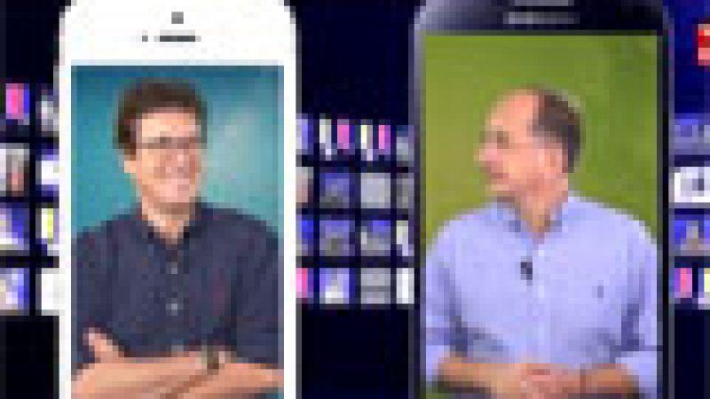 Le match  iPhone 5s contre Galaxy S4 en vidéo