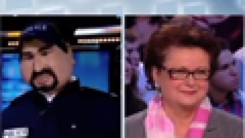 Zapping : Christine Boutin face à son agresseur…
