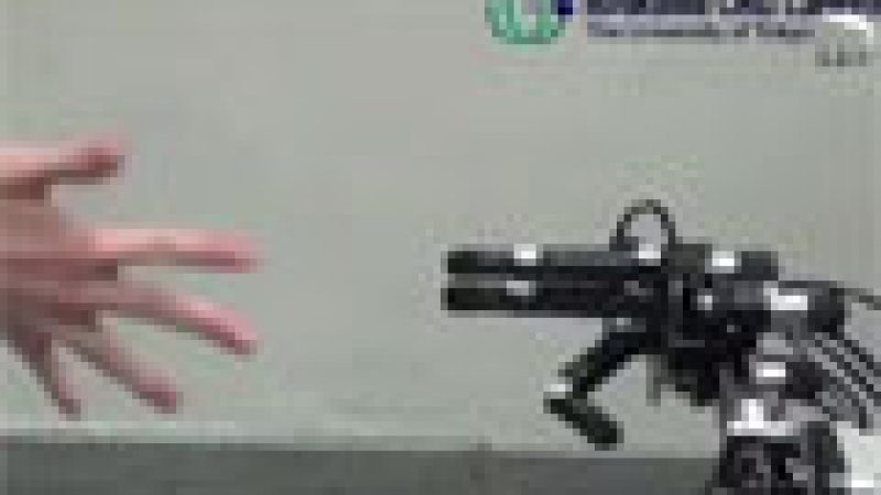 Zapping : un robot imbattable au pierre-feuille-ciseaux…