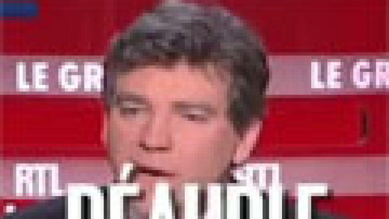 """Zapping : Arnaud Montebourg n'apprécie pas la presse """"péauple""""…"""