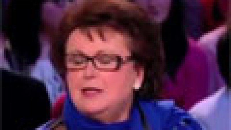 Zapping : Christine Boutin ne sait plus ce qu'elle dit….