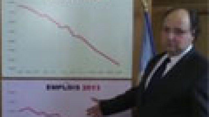 Zapping : François Hollande a réussi à inverser une courbe, mais pas celle du chômage….