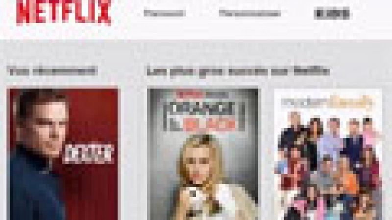 Découvrez en avant première un aperçu de Netflix France