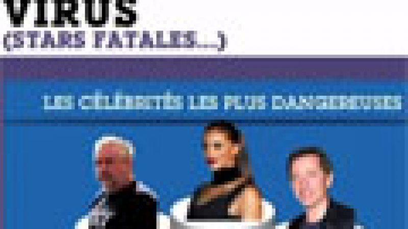 Zapping : Le TOP 10 des célébrités qui transmettent le plus de virus sur le Net…