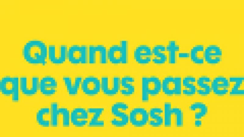 """Exercice de diction : """"je suis passé chez Sosh"""""""