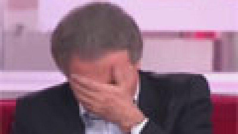 Zapping : M. Drucker taclé par un enfant…