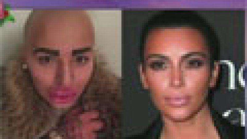 Zapping : Il veut ressembler à Kim Kardashian et c'est horrible…