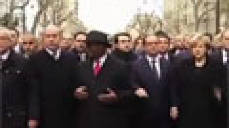 Zapping : la marche historique contre le terrorisme…