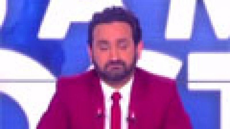 Zapping : Cyril Hanouna ému jusqu'aux larmes..