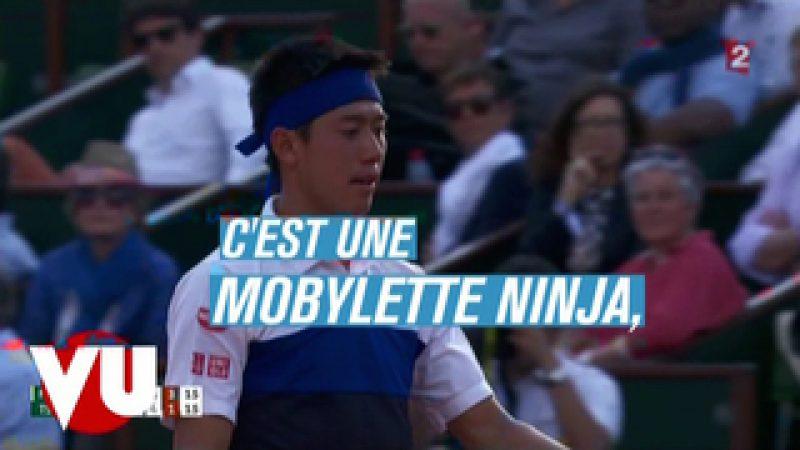 Zapping : jeux de mots foireux à Roland Garros