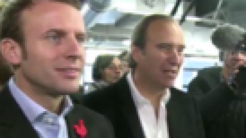 Xavier Niel et  Emmanuel Macron interrogés à propos de l'école 42 [vidéo]