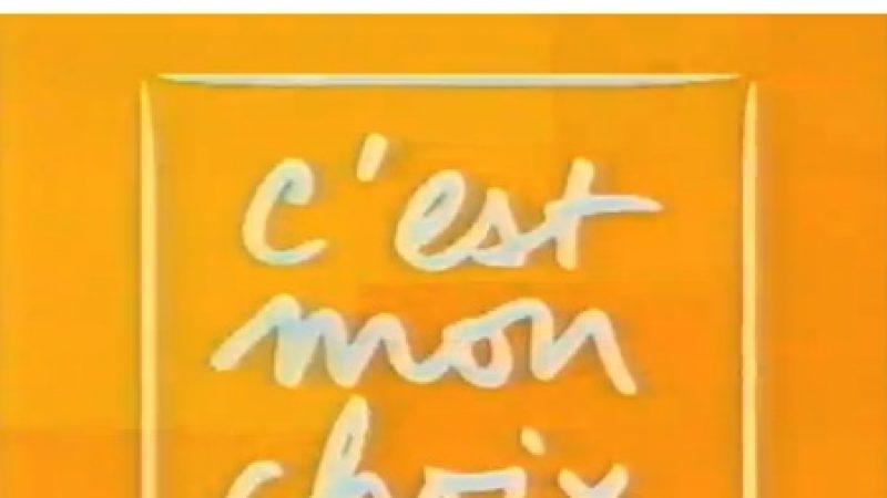 """""""C'est mon choix"""" retirée de l'access de Chérie 25"""