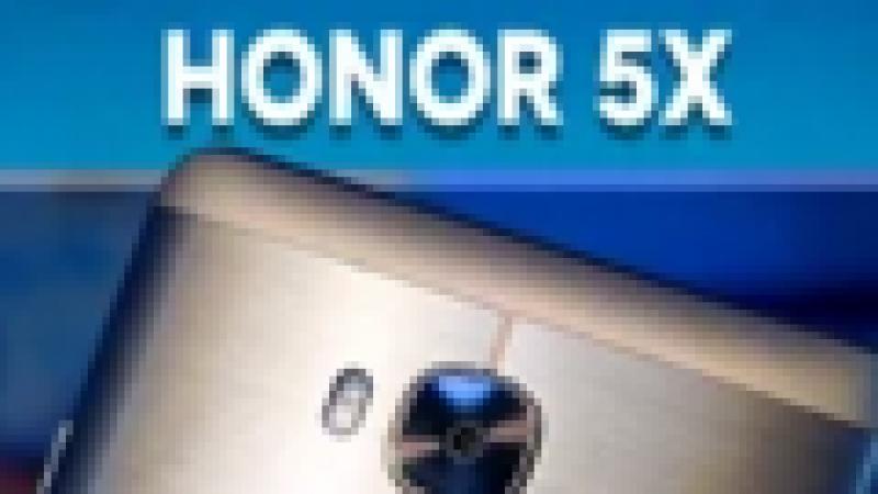 Découvrez une prise en main du Honor 5X