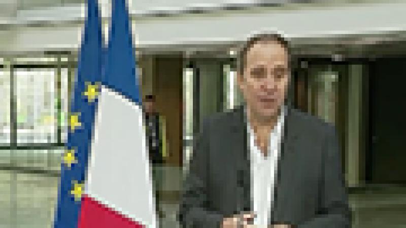 Reportage CNews :  Xavier Niel et François Hollande à STATION F