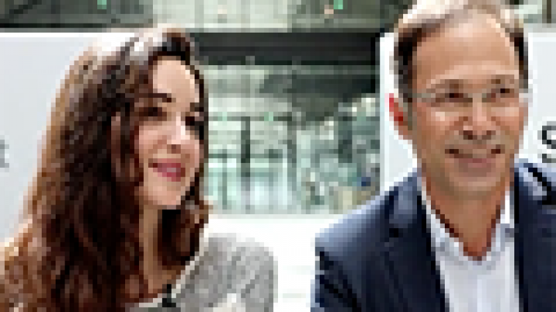 STATION F : Interview de la directrice Roxanne Varza et du patron de Microsoft France