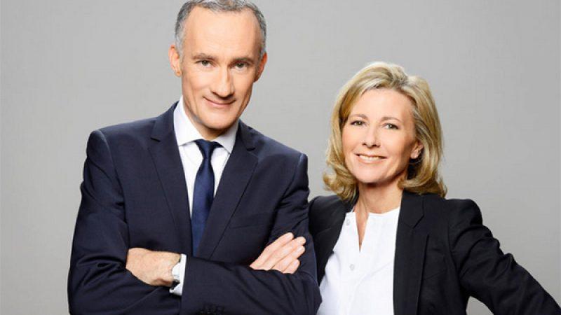 Décor inédit sur TF1 pour les municipales avec Chazal et Bouleau