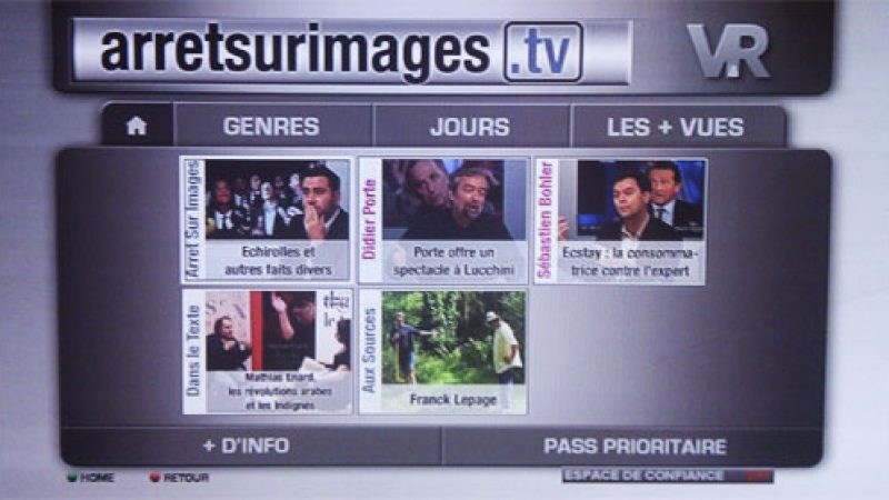 Freebox Replay : Le service Arrêt sur Images disponible