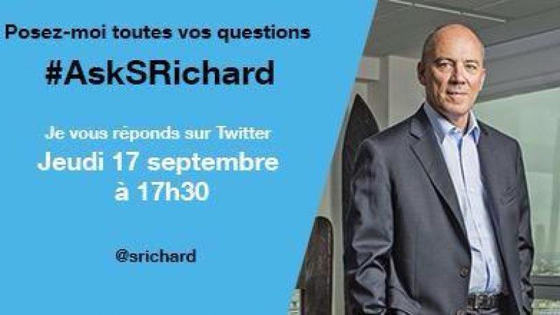 Stéphane Richard répond en direct à vos questions sur Twitter : c'est parti !