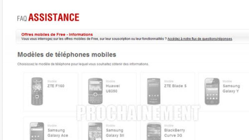 Lancement du site d'assistance pour Free Mobile