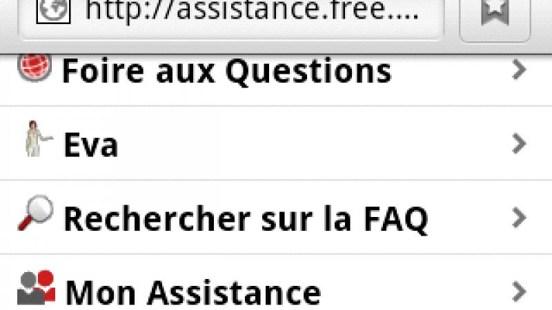 L'assistance de Free désormais disponible sur Android