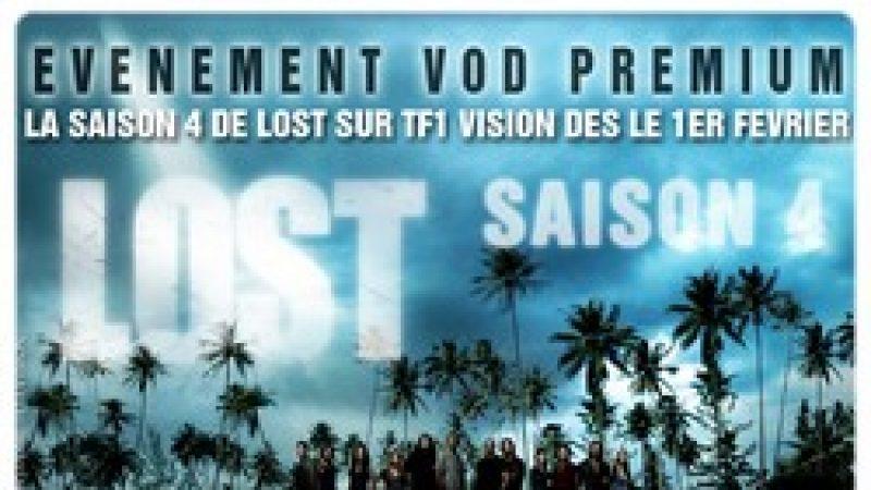 La saison 4 de Lost en VOD juste après sa diffusion aux USA