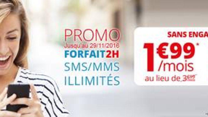 Auchan Télécom s'aligne presque sur Free Mobile avec un forfait à 1,99€