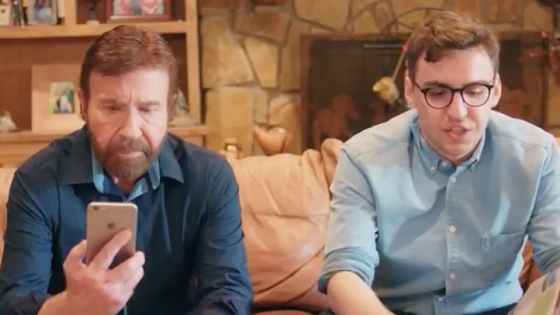 Clin d'oeil : Quand Chuck Norris est aussi rapide que la 4G de Bouygues Telecom