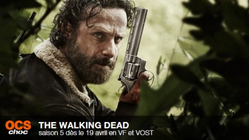 The Walking Dead et Game of Thrones en avril sur OCS