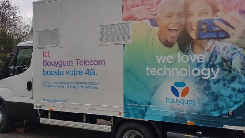 Bouygues Telecom lève le voile sur ses camions 4G