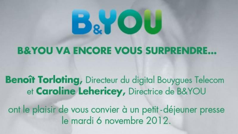 B and You annonce une conférence où il va « surprendre »