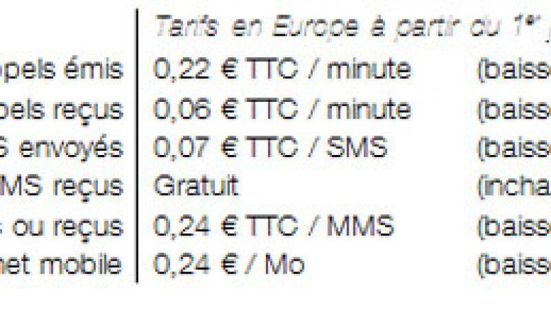 Orange annonce baisser ses tarifs en roaming en Europe et intégrer les SMS illimités
