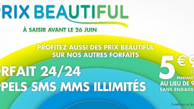 Prix Beautiful : B&You prolonge ses offres promotionnelles