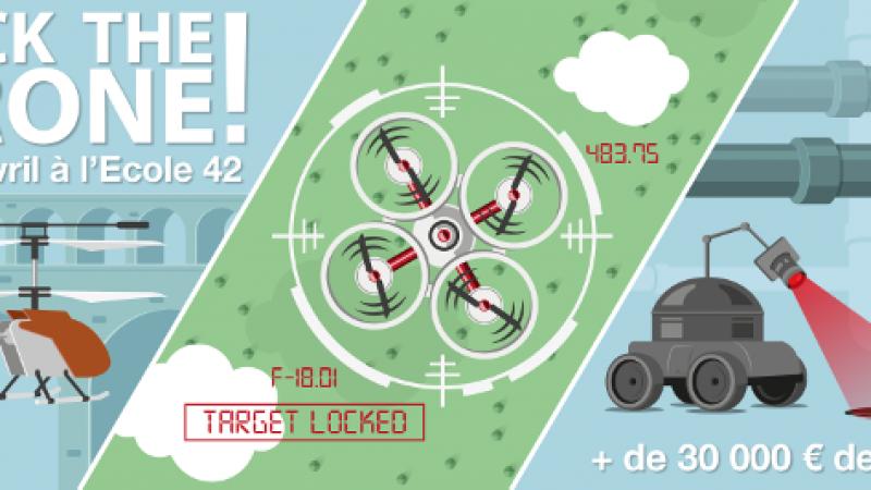 Hack the drone ! Participez à des battles de drones à l'école 42