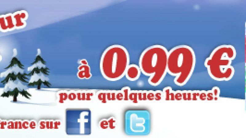 Happy Hour de Noël sur Freebox Révolution : Bubble Bash à 0,99€ pour quelques heures seulement !