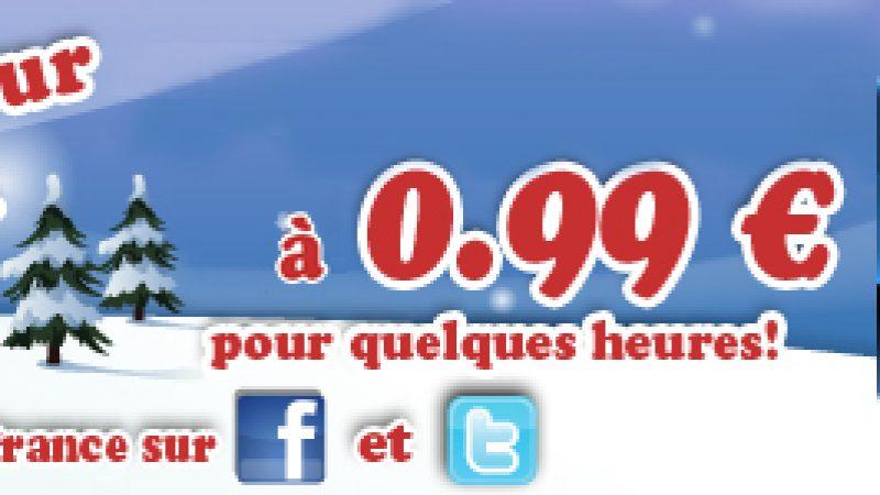 Happy Hour de Noël sur Freebox Révolution : Let's Golf 2 à 0,99€ pour quelques heures seulement !