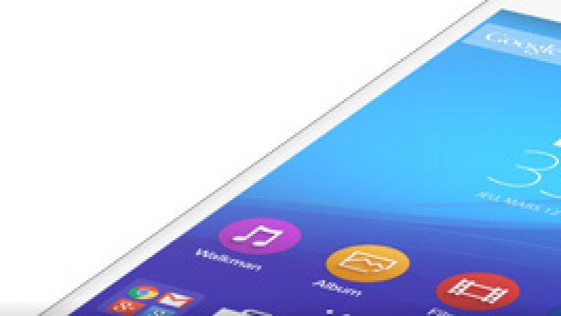 Sony Xperia M4 Aqua : une mise à jour pour libérer de l'espace de stockage