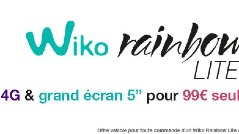 Un nouveau Wiko est disponible dans la boutique Free Mobile