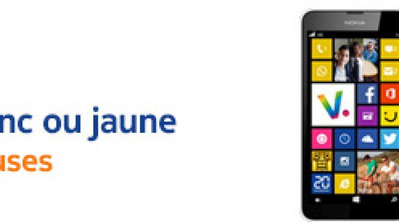 Free Mobile : deux coques supplémentaires offertes pour l'achat d'un Lumia 635