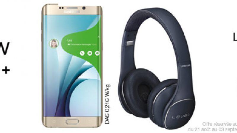 Free lance les précommandes pour le Samsung Galaxy S6 Edge+ avec un casque offert