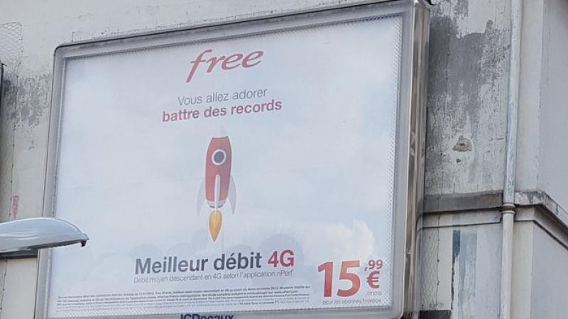 Avec Free Mobile, « vous allez adorer battre des records »