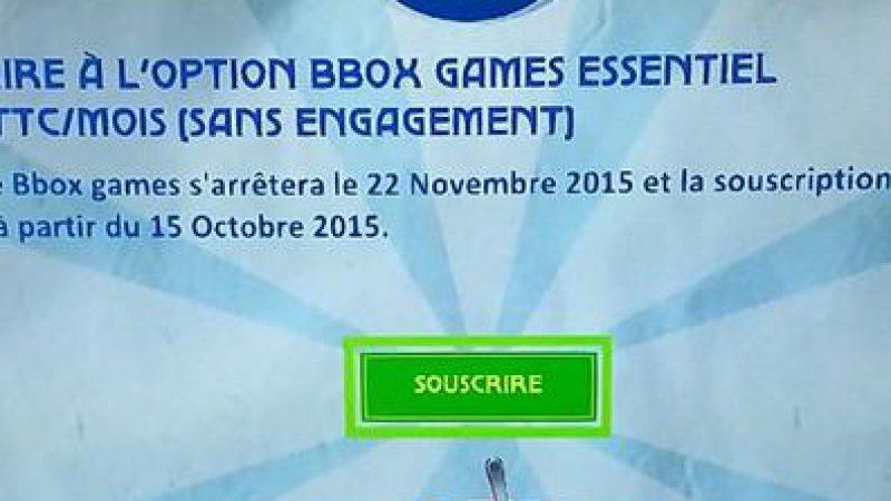 Bouygues Télécom met un terme au service de jeux « Bbox Games »