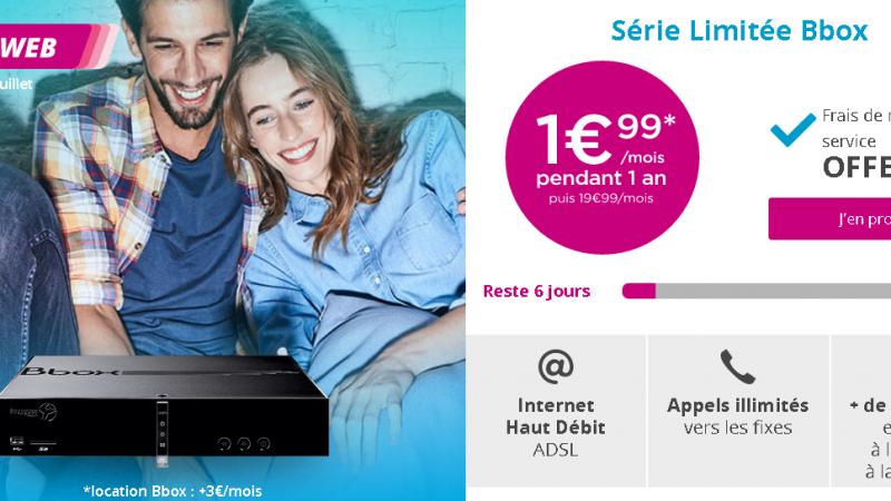 Bouygues Télécom propose sa box à 1,99€/mois durant 1an, mais avec des frais cachés