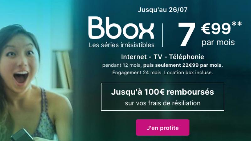Bouygues Telecom canarde une offre Bbox à 7,99€/mois pendant un an