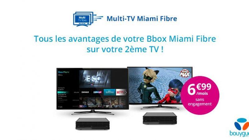 Bouygues Télécom lance le Multi TV pour la Bbox Miami, avec la fibre mais pas avec l'ADSL