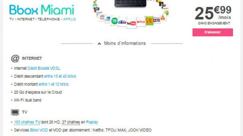 Bouygues Télécom met fin à la Bbox Sensation, sauf en zone FTTLA
