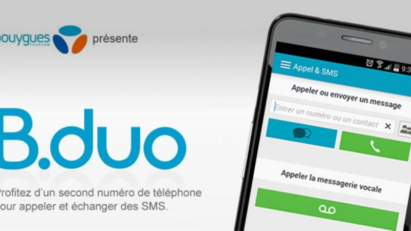 Bouygues Telecom prolonge l'option B.duo gratuitement, une solution temporaire