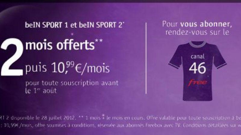 Bein Sport : 2 mois gratuits pour toute souscription avant le 1 août