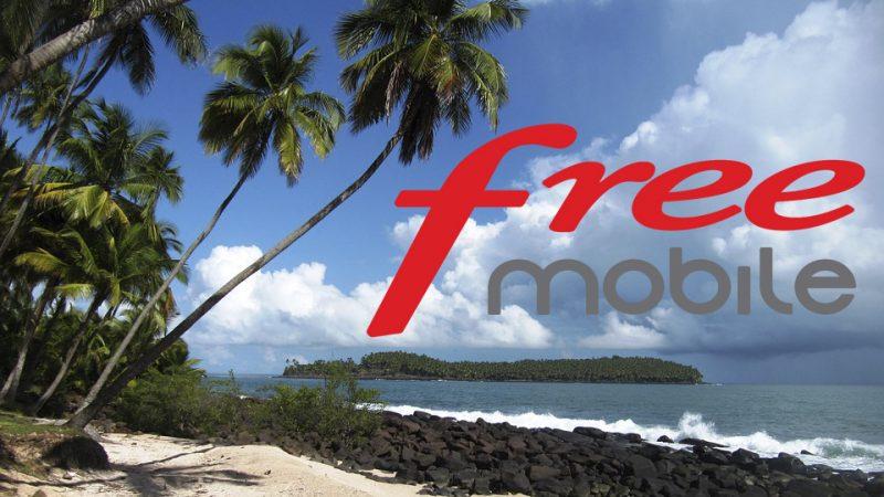 Free Mobile commence à déployer son réseau mobile en Guyane