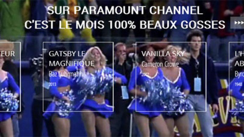 100% beaux gosses : Free et Paramount Channel lancent un concours